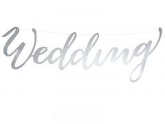 Baner Wedding stříbrný
