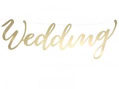 Baner Wedding zlatý