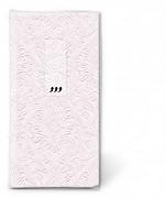 Kapesníčky perleťové jemně růžové vytlačované