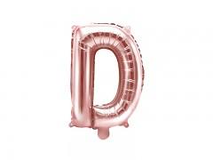 Fóliové písmeno D růžovozlaté