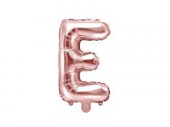 Fóliové písmeno E růžovozlaté