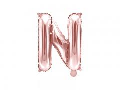Fóliové písmeno N růžovozlaté