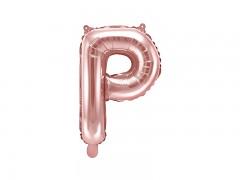 Fóliové písmeno P růžovozlaté
