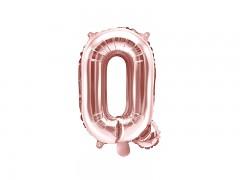Fóliové písmeno Q růžovozlaté