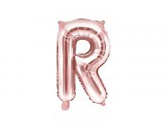 Fóliové písmeno R růžovozlaté