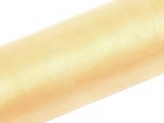 Organza 150 cm x 50 m vanilla ivory