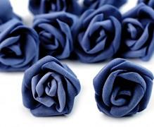 Růžička pěnová tmavě modrá 4 cm