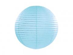 Lampion tyrkysově modrý 25 cm