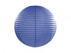 Lampion královsky modrý 25 cm