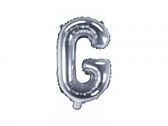 Fóliové písmeno G stříbrné