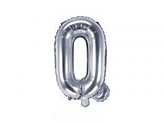 Fóliové písmeno Q stříbrné