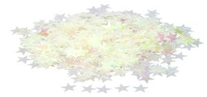 Konfety hvězdičky duhové