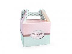 """Malá krabička na výslužku """"Cakes"""""""
