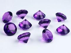 Diamanty fialové 20 mm