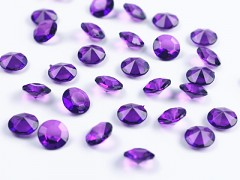 Diamanty fialové 12 mm