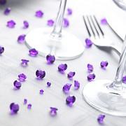 Diamanty fialové mix velikostí
