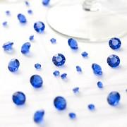 Diamanty modré mix velikostí