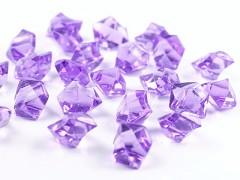 Krystaly světle fialové 50 ks