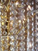 Girlanda krystalky ø 18 mm čiré  1 m