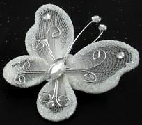 Motýlek bílý