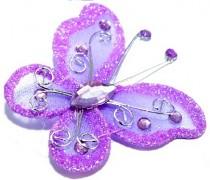 Motýlek světle fialový