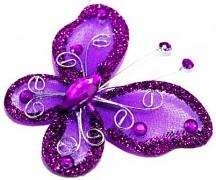 Motýlek purpurově fialový