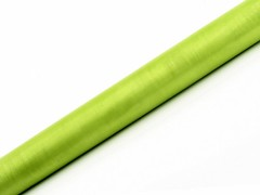 Organza 36 cm x 9 m světle zelená