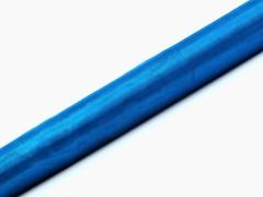 Organza 36 cm x 9 m modrá