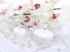 Perličky na silikonu bílé