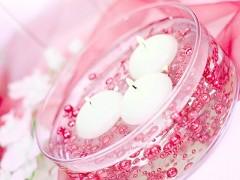 Perličky na silikonu sytě růžové