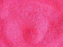 Dekorační písek sytě růžový 500 g