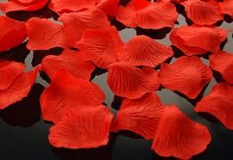 Plátky růží červené