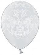 Balónek průhledný s ornamentem