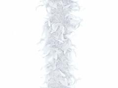 Péřové boa bílé 180 cm