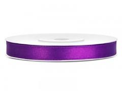 Stuha saténová fialová 6 mm x 25 m