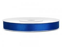 Stuha saténová královsky modrá 6 mm x 25 m