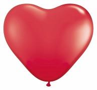 Balónek vínově červené srdce