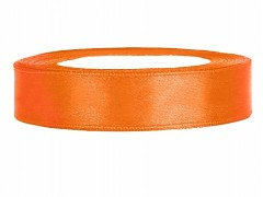 Stuha saténová oranžová 12 mm x 25 m