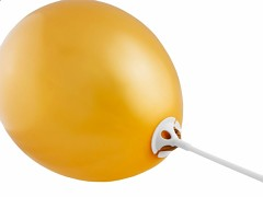 Plastový držák na balónek