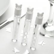 Svatební bublifuk - tuba motýlek