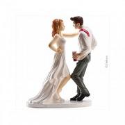 Nevěsta a ženich po půlnoci - svatební figurky
