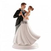 Tančící novomanželé - svatební figurky