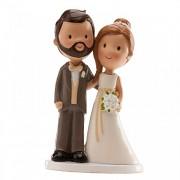 """Nevěsta a ženich """"Old fashion"""" - svatební figurky"""