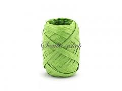 Svatební pokladnička malá bílá se zelenými mašličkami