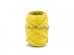 Svatební pokladnička malá bílá se žlutými mašličkami