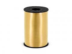 Vázací stuha zlatá matná 5 mm x 225 m