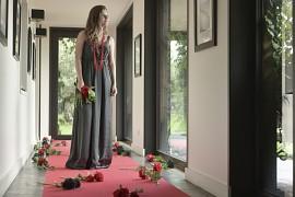Slavnostní koberec červený 1 x 15 m
