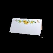 Jmenovka se žlutými květy