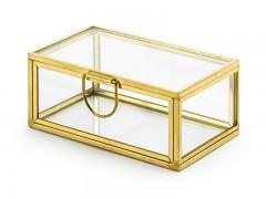 Skleněná krabička na prstýnky