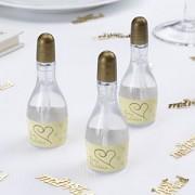 Svatební bublifuk - zlaté šampaňské
